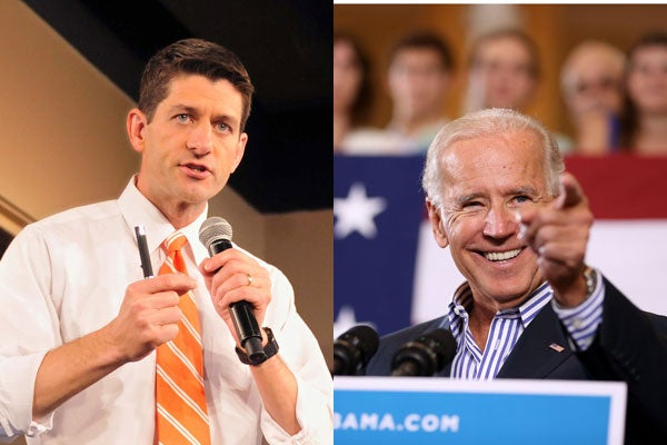 Joe Biden vs. Paul Ryan