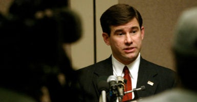 William Pryor is a federal judge on the U.S. Court of Appeals for the 11th Circuit and is on President Donald Trump's short list of candidates to fill the current vacancy on the Supreme Court. (Photo: Tami Chappell /Reuters/Newscom)