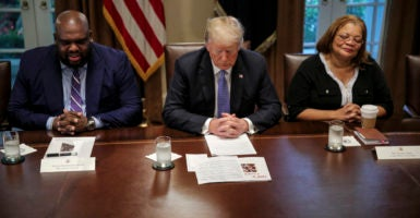 Trump 'Most Pro-Black President,' Pastor Says in Meeting on
