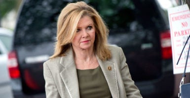 Rep. Marsha Blackburn, R-Tenn., leads the effort to hold a California biotechnology company that procures tissue from aborted babies in contempt of Congress. (Photo: Tom Williams/CQ Roll Call/Newscom)