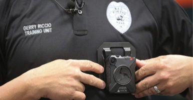 Law enforcement officials hope body cameras can provide a non-biased view of violent interactions between officers and citizens. (Photo: Bruce R. Bennett/ZUMA Press/Newscom)