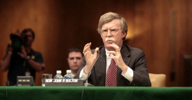 John Bolton served as ambassador to the U.N. under President George W. Bush. (Photo: Chuck Kennedy/ KRT/Newscom)