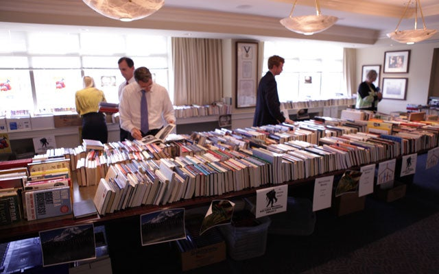 The Heritage Foundation's Wounded Warrior Book Fair