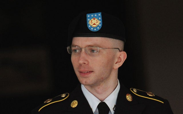 Army Pfc. Bradley Manning (MANDEL NGAN/AFP/Getty Images/Newscom)