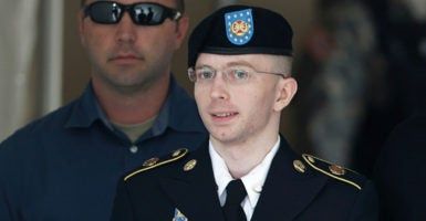 On Tuesday, Jan. 17, President Barack Obama commuted all but four months of Manning's 35-year sentence, a punishment he received for leaking Army intelligence documents. (Photo: Gary Cameron/Reuters /Newscom)