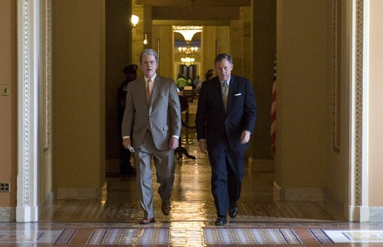 Sen. Tom Coburn, R-Okla., left, and Sen. Richard Burr, R-N.C.,