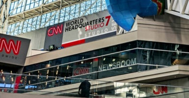 The CNN World News headquarters in Atlanta, Georgia. (Photo: John Greim/John Greim Photography /Newscom)