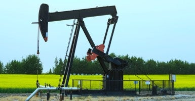 A oilfield lease in rural Alberta, Canada (Photo: LJM Photo/Newscom)