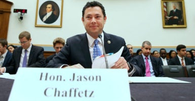 Rep. Jason Chaffetz, R-Utah, serves as chairman of the House Oversight and Government Reform committee. (Photo: Michael Reynolds/EPA/Newscom)