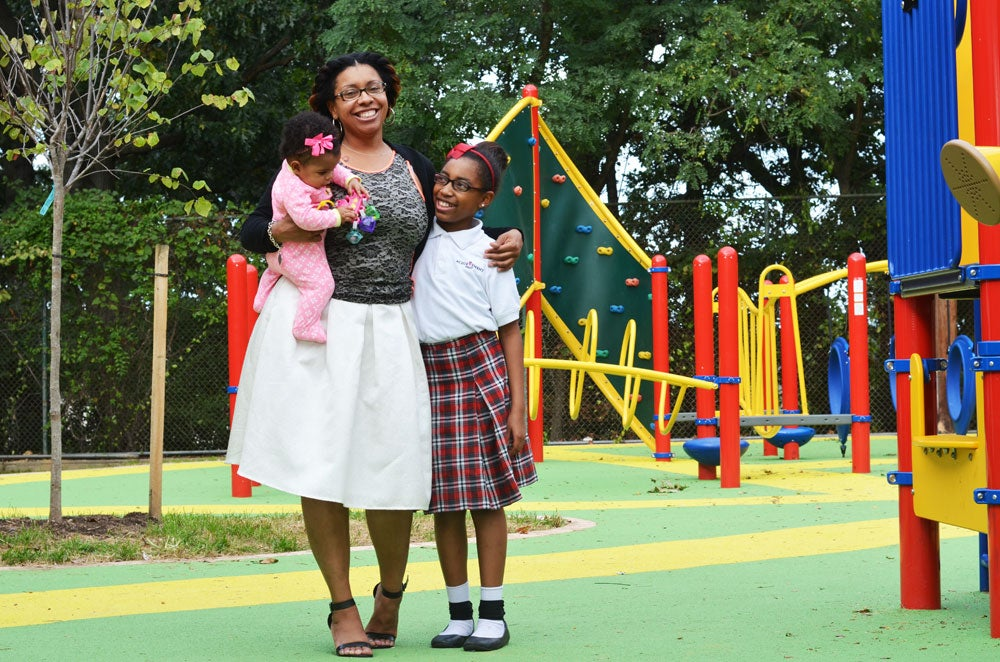Maddox says that although she knows the fight over charter schools is political, she's simply trying to get her daughters a good education. (Photo: Daily Signal/Kelsey Harkness)