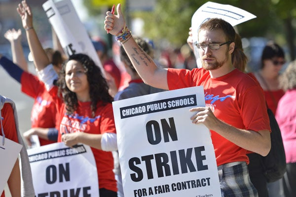 Chicago-teacher-strike Sept. 2012