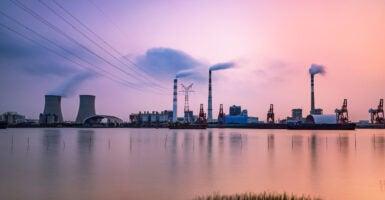 China Paris climate carbon