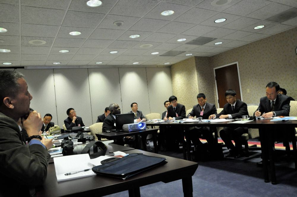 The China Ministry of Finance visits the OPM in 2009 (Photo: OPM Flikr)