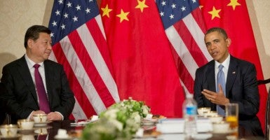 US President Barack Obama during a bilateral meeting with Chinese President Xi Jinping (Photo: U.S. Embassy The Hague / Flickr / CC BY-ND 2.0)