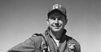 Chuck Yeager width=