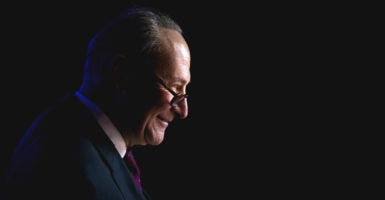 Sen. Chuck Schumer, D-N.Y., once applauded a president's public criticism of Supreme Court justices while they were sitting directly in front of him. (Photo: Beowulf Sheehan/ZUMA Press/Newscom  )