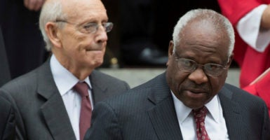 Supreme Court Justice Clarence Thomas' recent dissent could provide the impetus for the court to examine the scope of Congress' power to regulate international commerce. (Photo: Joshua Roberts/Reuters /Newscom)
