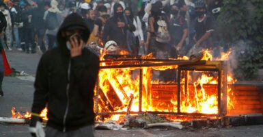 Colombians Protests Riots