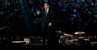 'This is our fight': Sen. Ted Cruz, R-Texas, declares his candidacy for president. (Photo: Brian Cahn/ZUMA Press/Newscom)