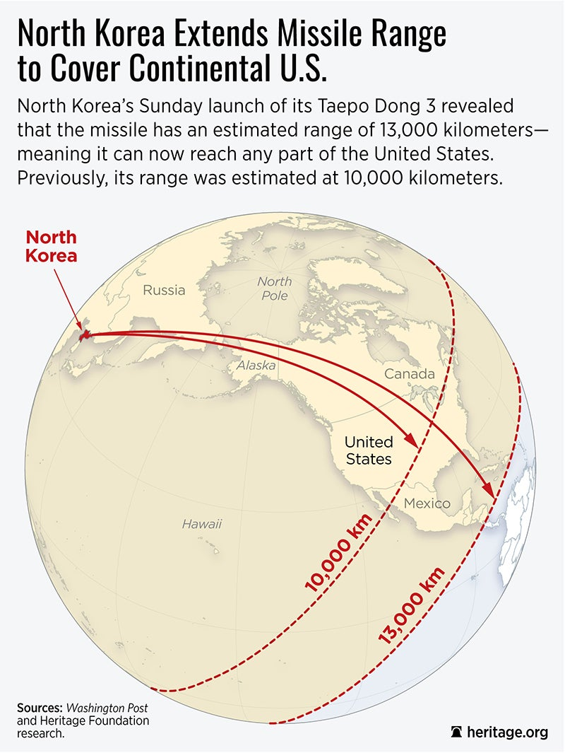 North Korea\'s Missile Launch Shows It Could Target US Homeland
