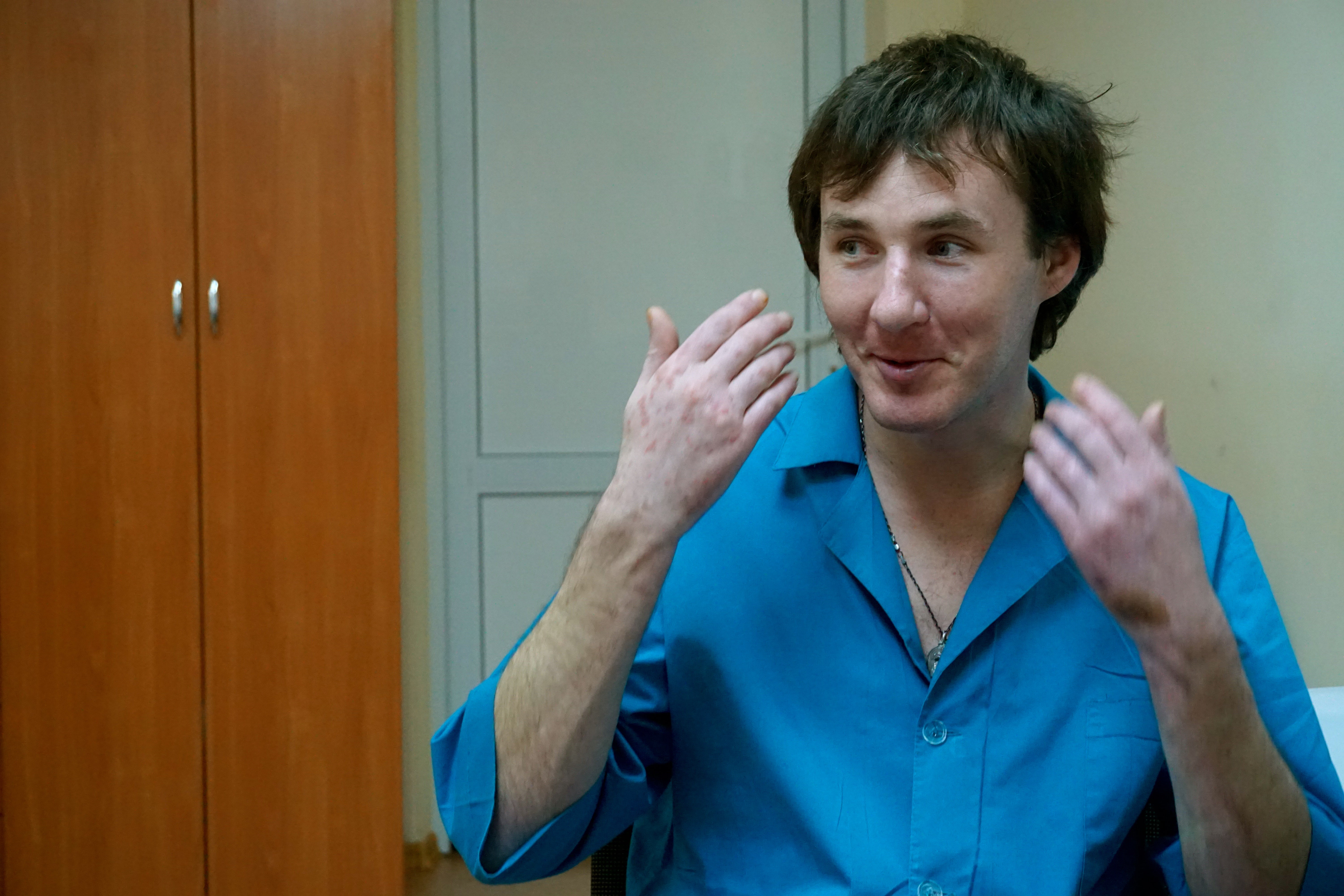 Krypychenko credited his religious faith and a good sense of humor with his ability to maintain hope throughout his captivity. (Photo: Nolan Peterson/The Daily Signal)
