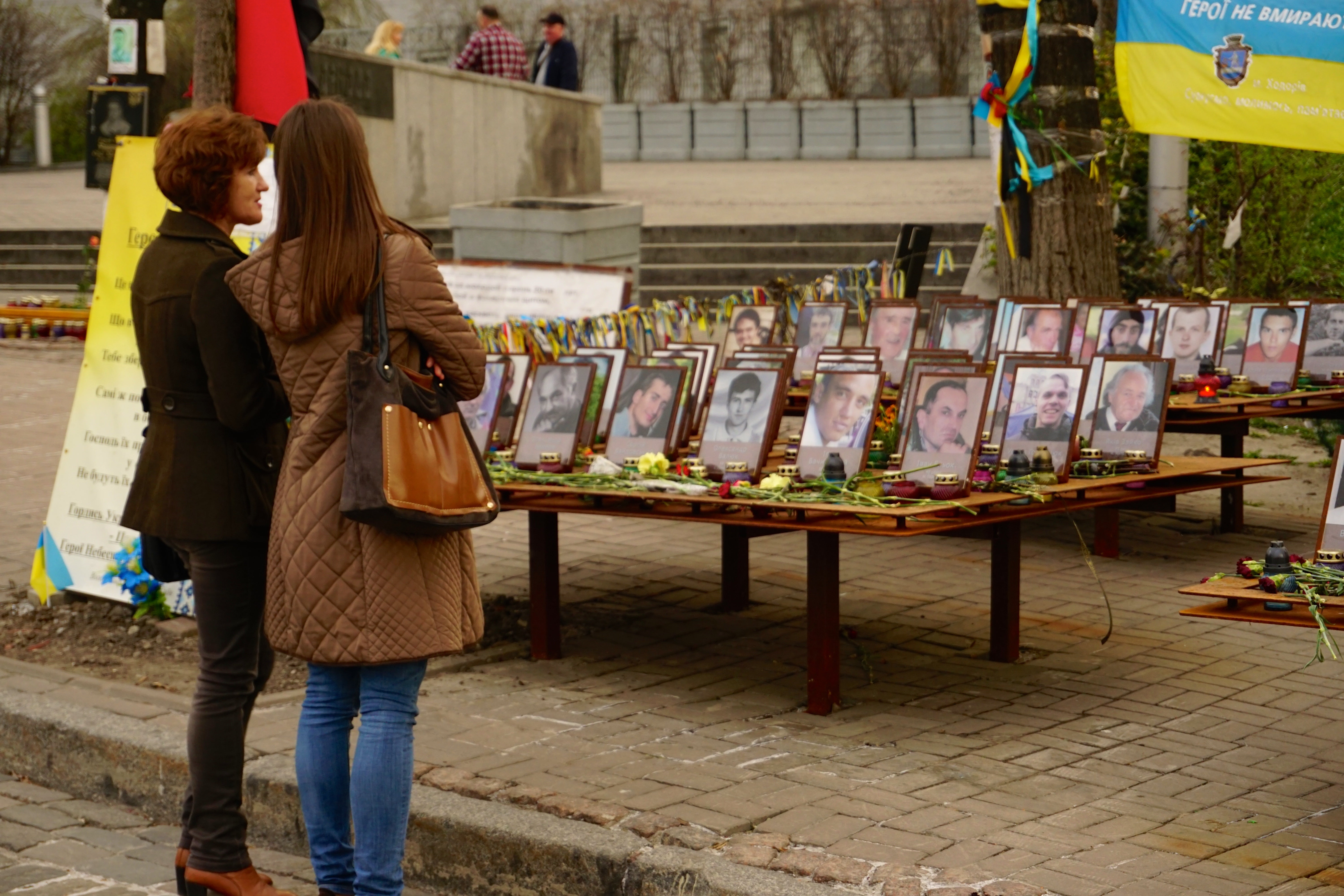 More than 100 protesters died during the February 2014 Ukrainian revolution. (Photos: Nolan Peterson/The Daily Signal)