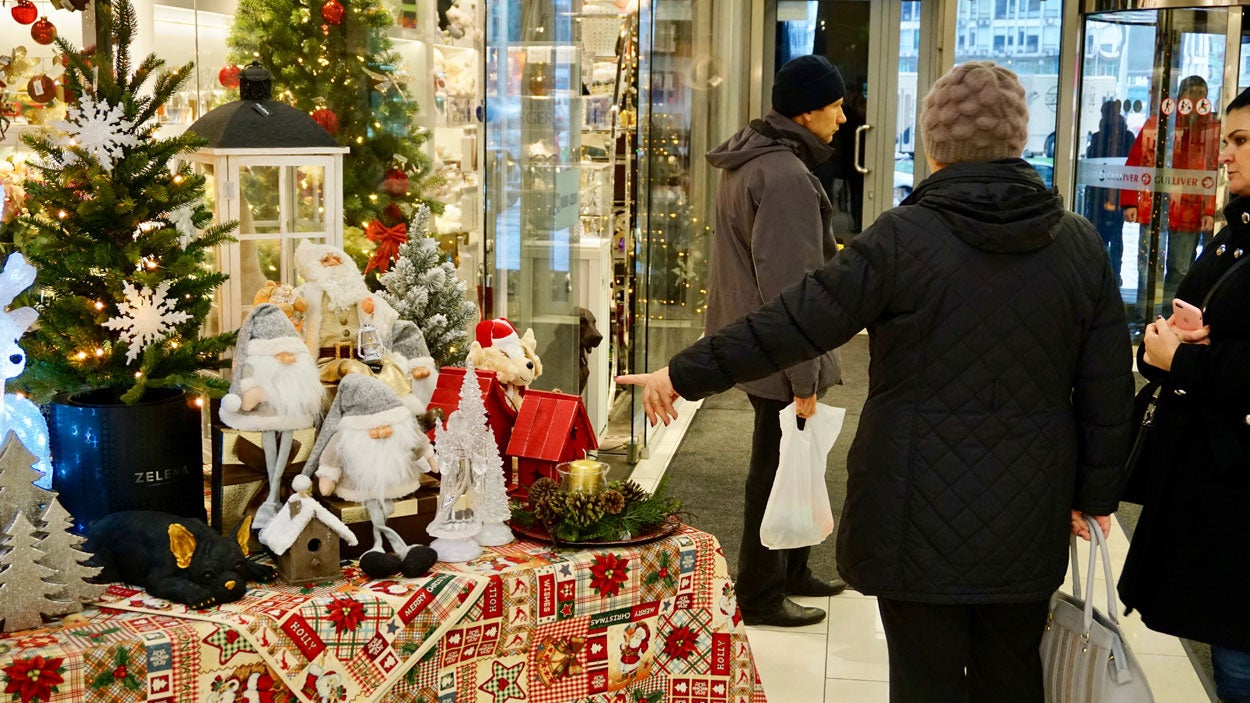 Ukraine's holiday traditions have become more like those of the United States and other Western countries since the collapse of the Soviet Union in 1991.