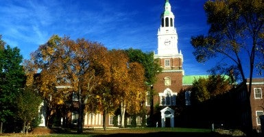 New Hampshire, Dartmouth college, Hanover, Ivy League, The campus at Dartmouth College (Photo: Andre Jenny Stock Connection Worldwide/Newscom)