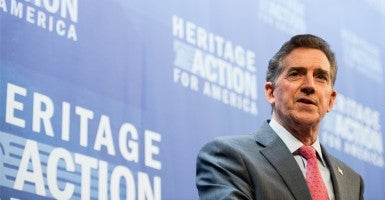 Former Sen. Jim DeMint, R-S.C., president of The Heritage Foundation. (Photo: Bill Clark/CQ Roll Call/Newscom)