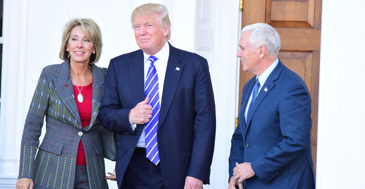 Betsy Devos Trumps Education Pick Has >> Meet Betsy Devos Trump S Pick For Education Secretary