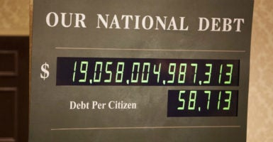 The U.S. national debt is racing toward $20 trillion. (Photo: iStock Photos)