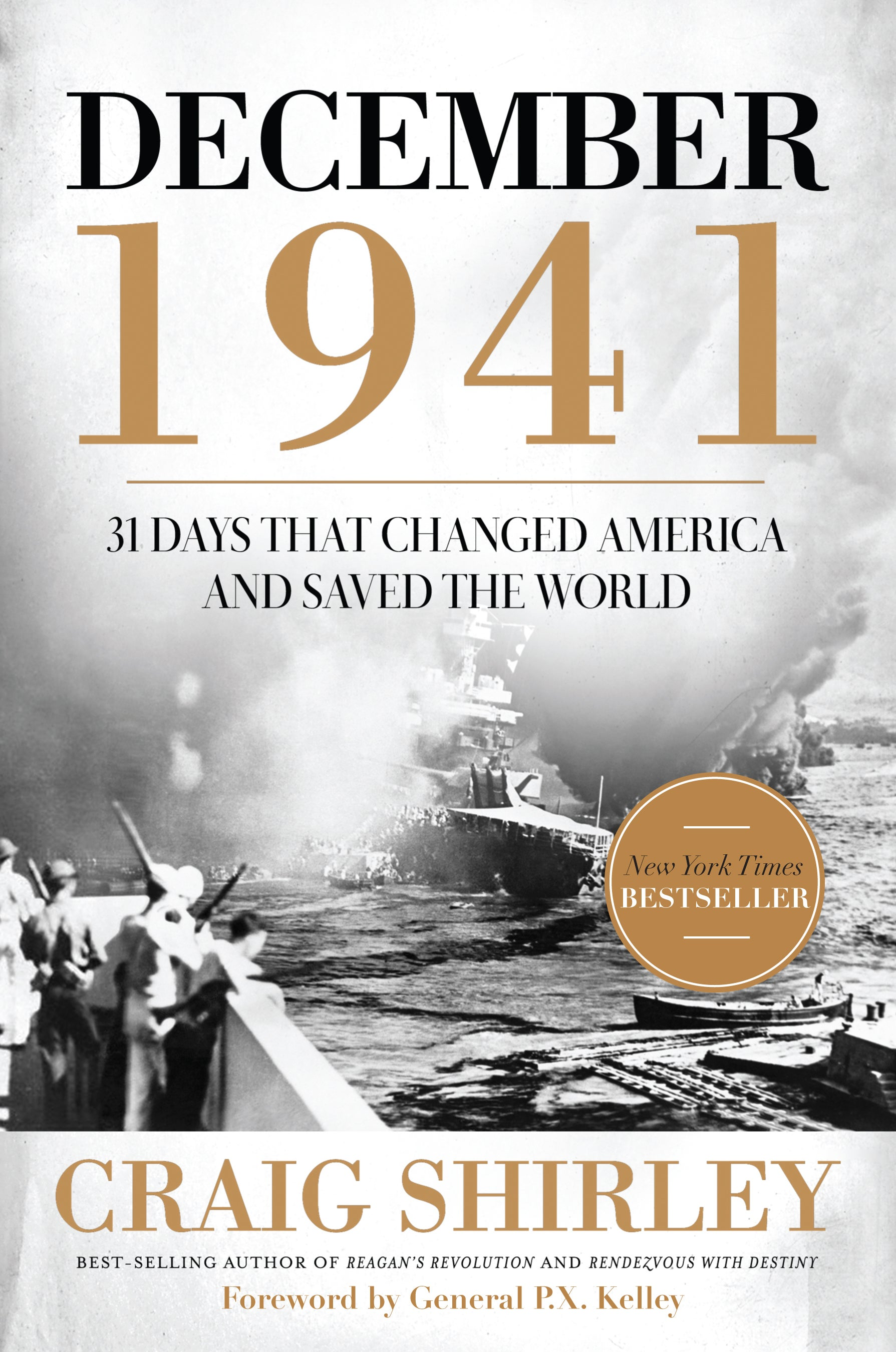 """The cover of Craig Shirley's """"December 1941."""""""