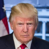 Portrait of Donald J. Trump