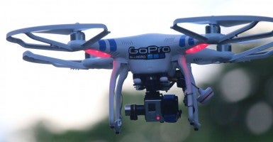 Drone Equipped with a Camera (Photo: Splash News/Newscom)