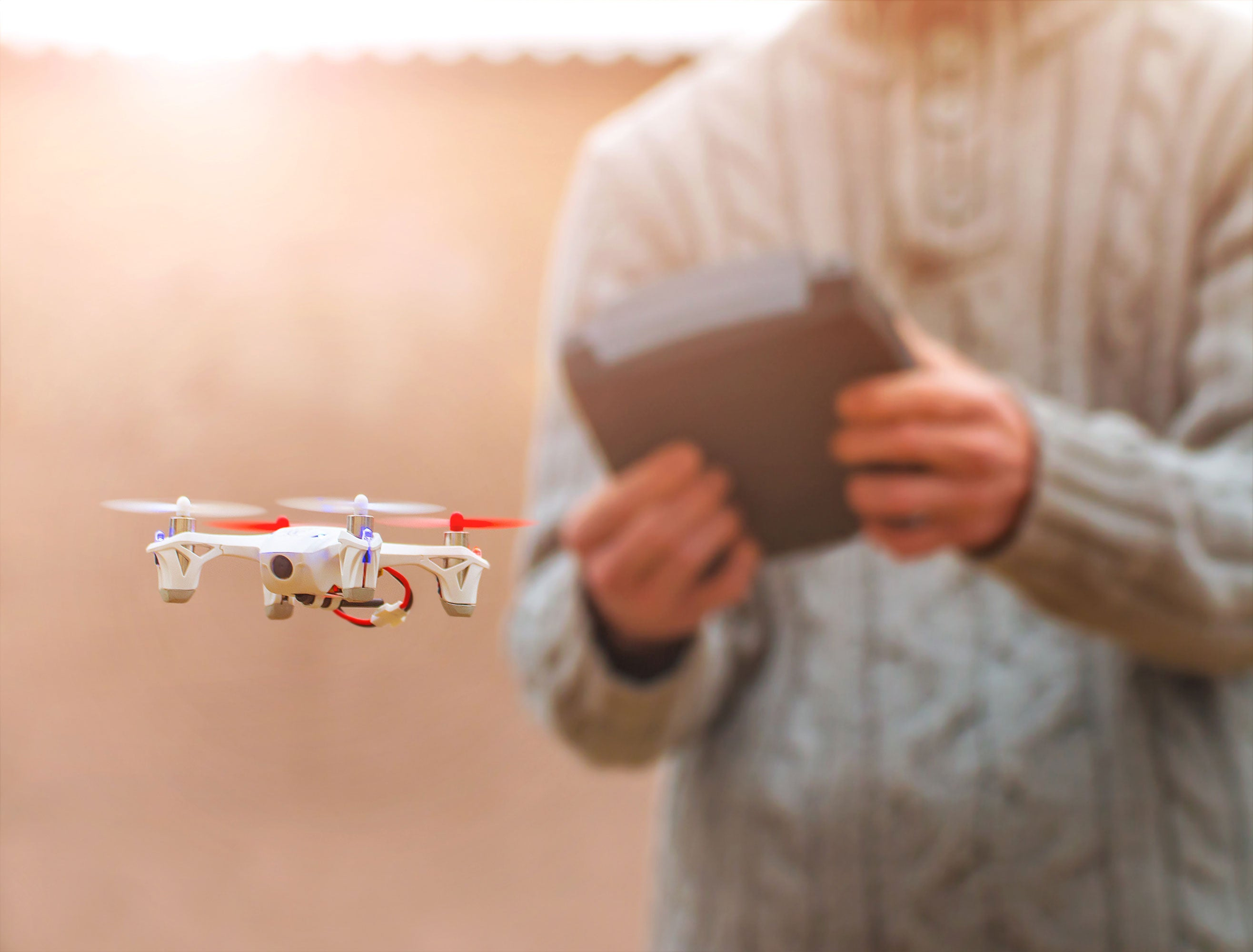 "The ""quadricopter"" is a popular recreational drone. (Photo: iStock Photos)"
