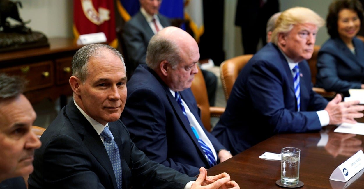 EPA Sends 'More Reasonable' Version of Obama's WOTUS Rule to the White House