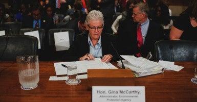 EPA administrator Gina McCarthy testifies on Wednesday, Sept. 16, 2015 (Photo: Bill Clark/CQ Roll Call/Newscom)
