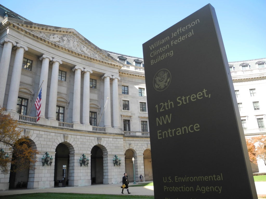 The headquarters of the Environmental Protection Agency in Washington, D.C. (Photo: Johannes Schmitt-Tegge/dpa/picture-alliance/Newscom)