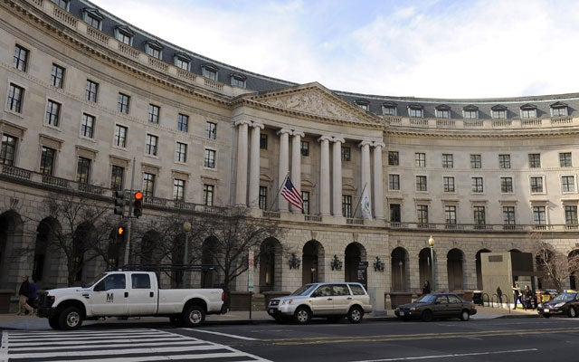 The Environmental Protection Agency headquarters. Photo: ROGER L. WOLLENBERG/UPI/Newscom