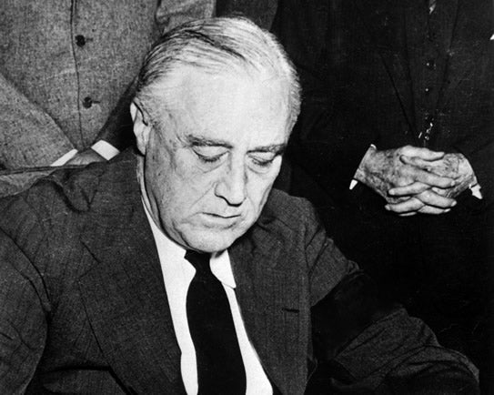 Franklin D. Roosevelt (Photo: Newscom)