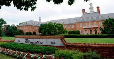 Headquarters of the U.S. Mortgage company Fannie Mae in Washington, DC (Photo: MATTHEW CAVANAUGH/EPA/Newscom)