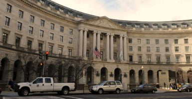 The REINS Act will require congressional approval and the president's signature for all major rules issued by federal agencies. (Photo: Roger L. Wollenberg/UPI/Newscom)