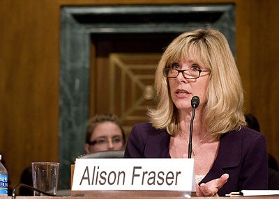 Alison Fraser on Line Item Veto