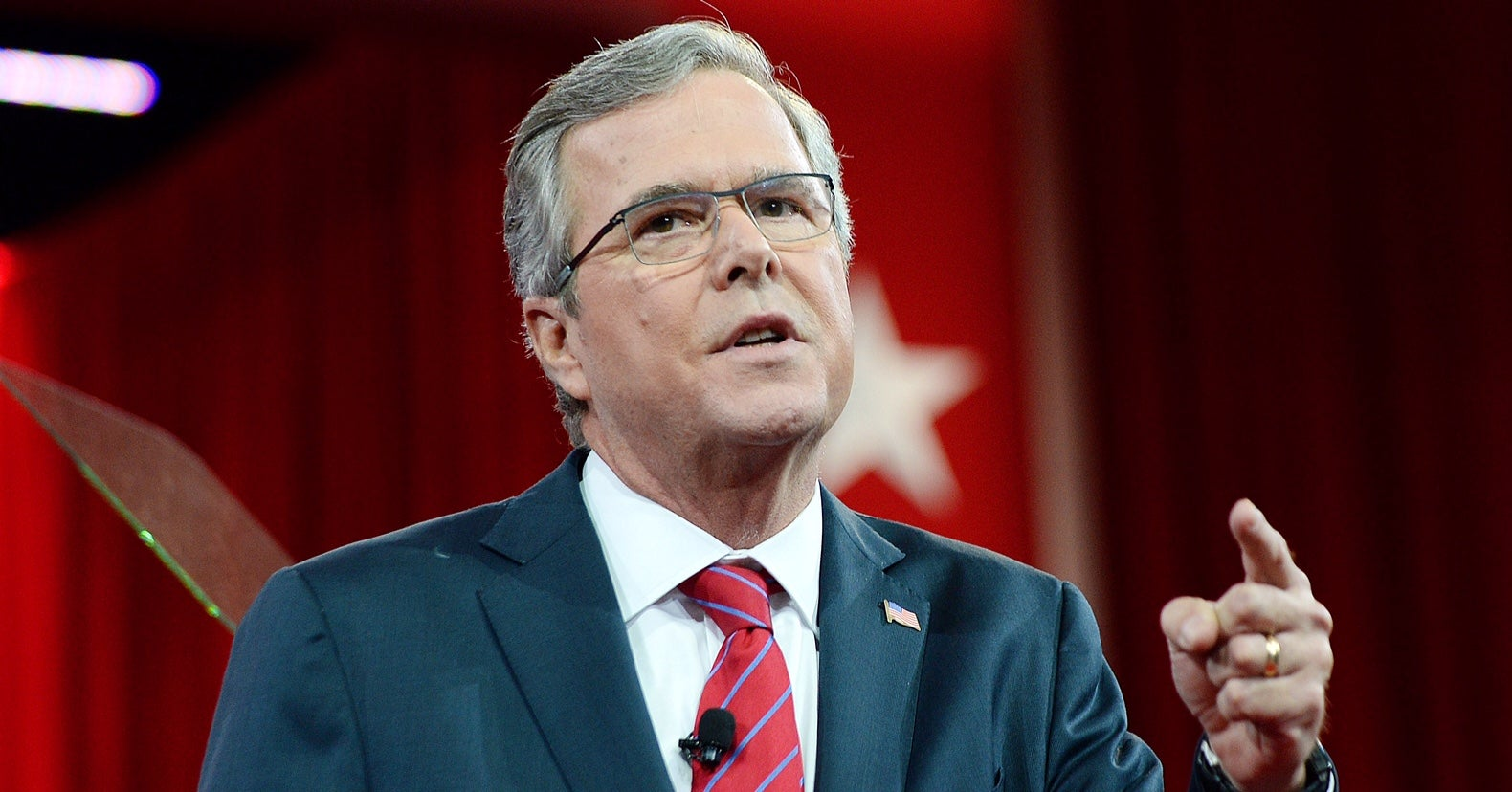 Former Florida Gov. Jeb Bush addresses the Conservative Political Action Conference. (Photo: Olivier Douliery)