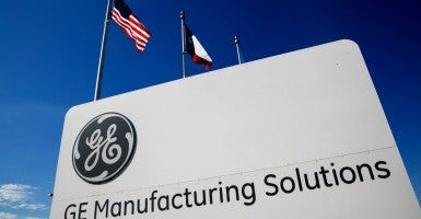 The evidence just does not support GE's claim that it is moving American jobs because of Ex-Im. (Photo: Kris Tripplaar/Sipa USA/Newscom)