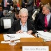EPA administrator Gina McCarthy testifies on Wednesday, Sept. 16, 2015, during the Senate Environment and Public Works Committee hearing on the Environmental Protection Agency's Gold King mine disaster. (Photo: Bill Clark/CQ Roll Call/Newscom)