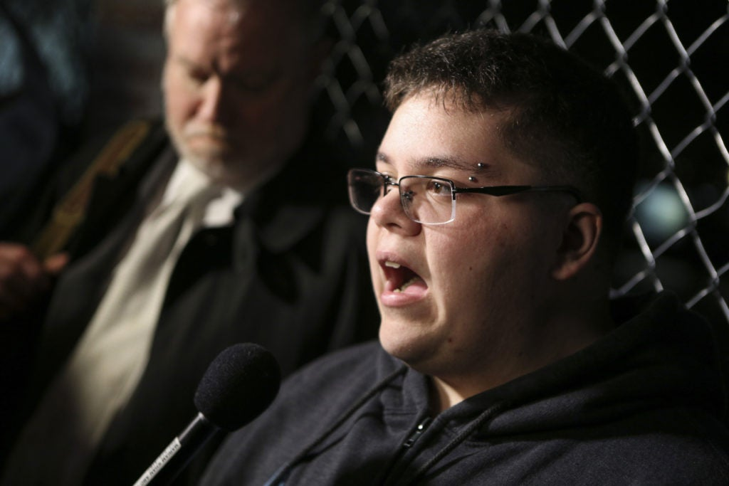 Gavin Grimm, the plaintiff in Gloucester County School Board v. G.G., is seeking access to male bathrooms despite being biologically female. (Photo: Oliver Contreras/ZUMA Press/Newscom)