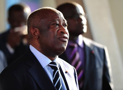 Ivory Coast leader LAURENT GBAGBO