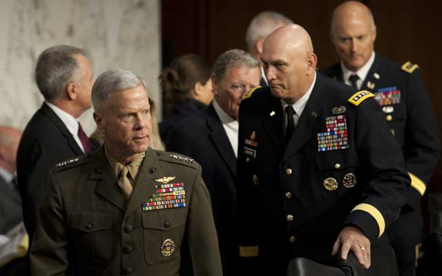 Commandant of the Marine Corps Gen. James Amos (Douglas Graham/CQ Roll Call/Newscom)