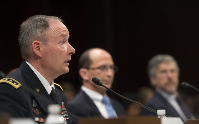 Keith Alexander, Director, NSA (Douglas Graham/CQ Roll Call/Newscom)